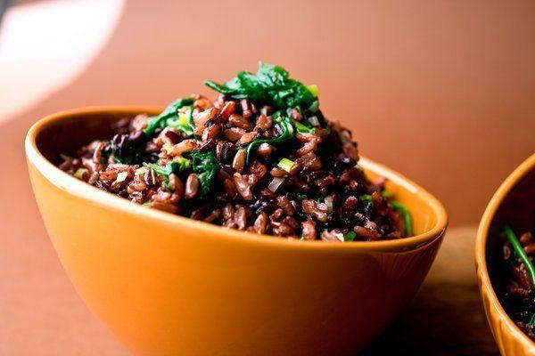 nasi merah kaya protein