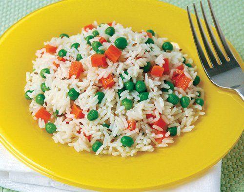 nasi putih lauk sayur