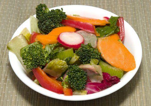 salad sayur sederhana