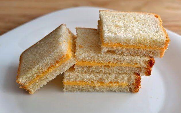 roti tawar isi keju rendah lemak