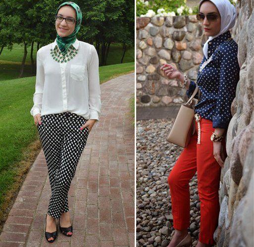 jilbab dan polkadot bagai sahabat sejati