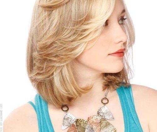 blonde bob semi panjang 1