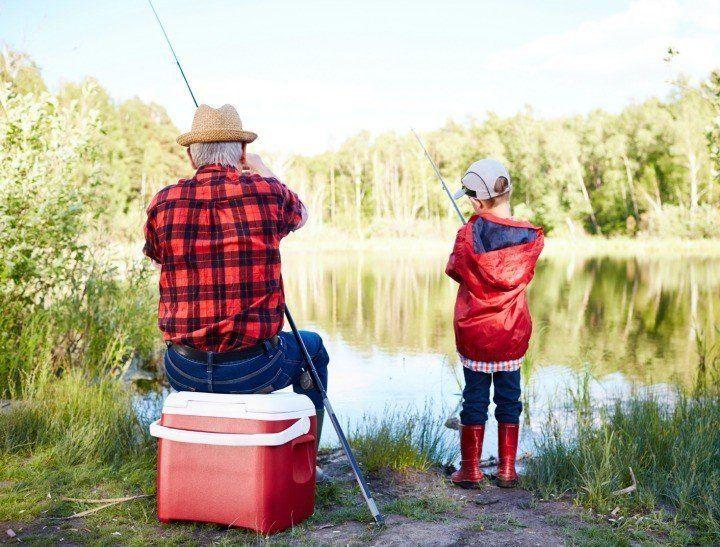 diajarin sabar dengan diajak mancing