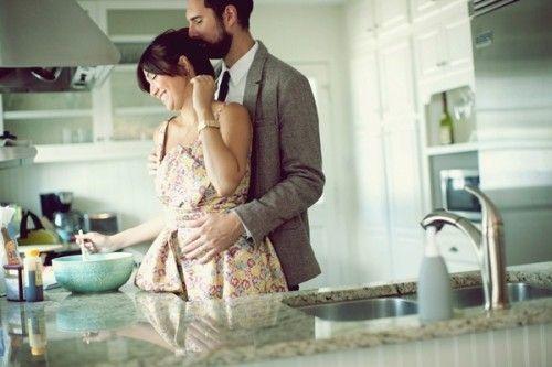 Masak bersama di dapur