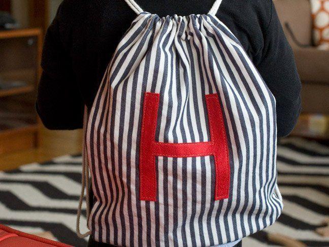 Drawstring backpack praktis