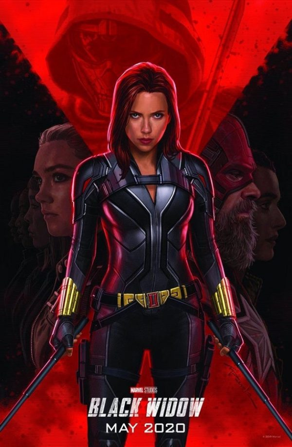 Poster Marvel Black Widow