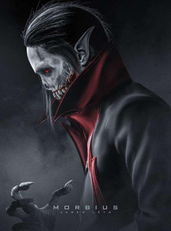 Poster film Morbius (marvel)