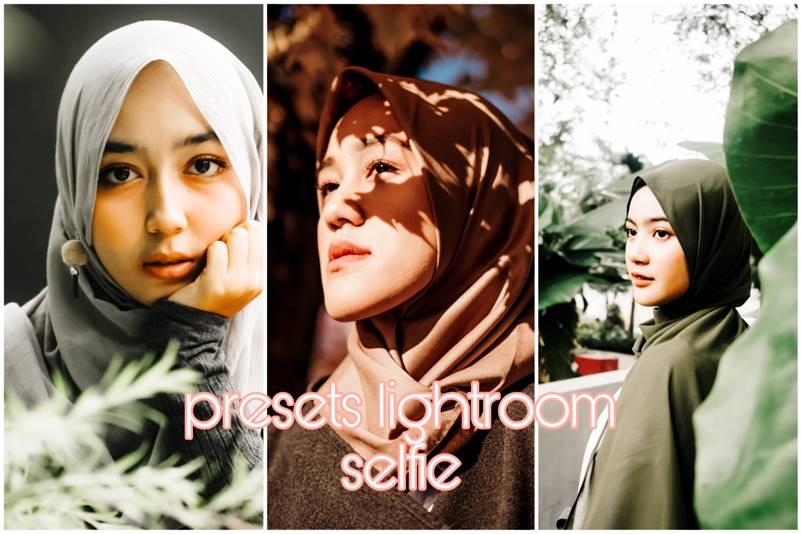 Preset Lightroom Selfie