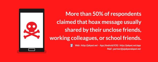 Jangan telan semua informasi mentah-mentah