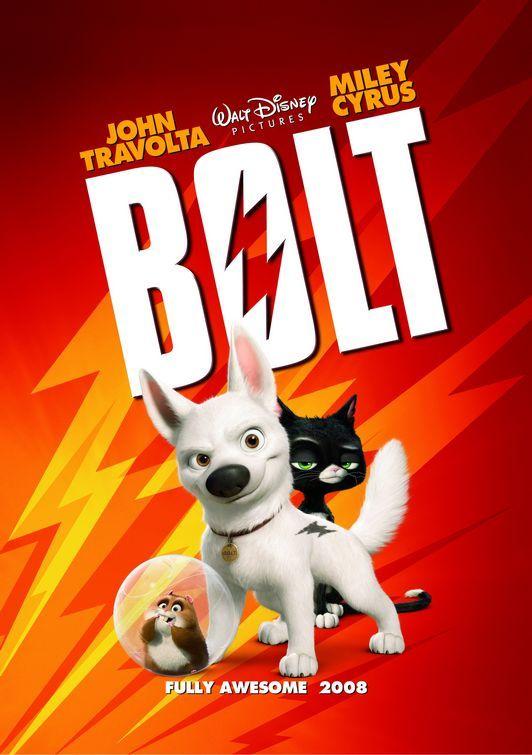 Poster film Bolt