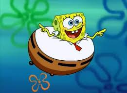 Spongebob dan celana terbang