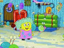Spongebob bersama para siput