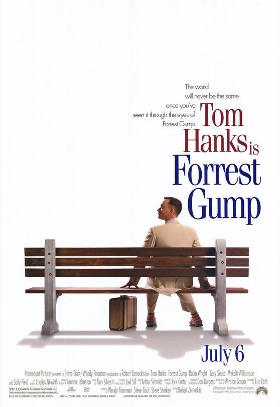 Poster film Forrest Gump