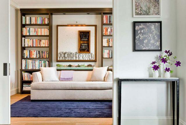 Sofa bed compact mendukung kenyamanan ruang baca