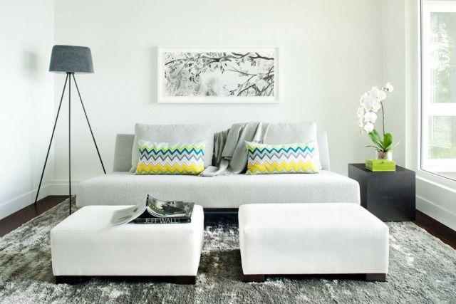 Sofa bed berbahan suede