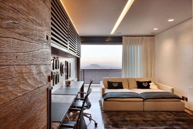 Sofa bed praktis yang nyaman untuk beristirahat