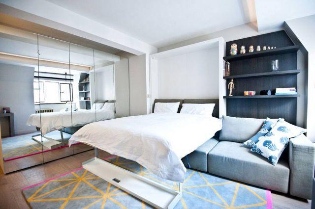 Sofa bed modern dengan desain fleksibel