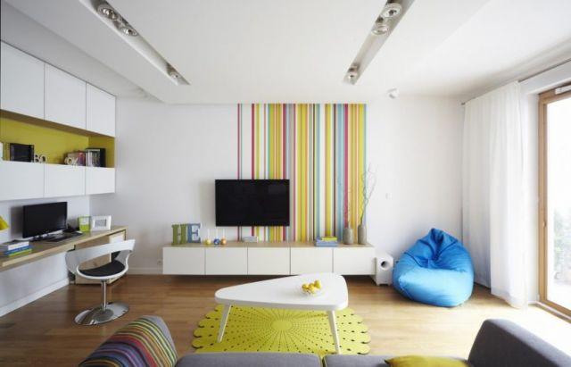 Ruang Santai Sekaligus Ruang Keluarga dan Ruang Kerja
