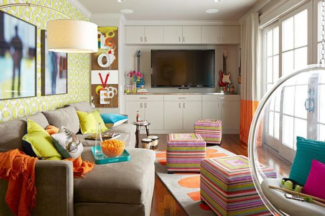 Ruang Santai Colorful