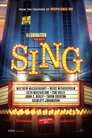 Poster film Sing