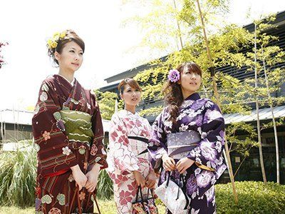 The plan of Japanese Kimono Experience
