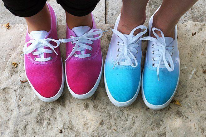 ombre shoes super keren!