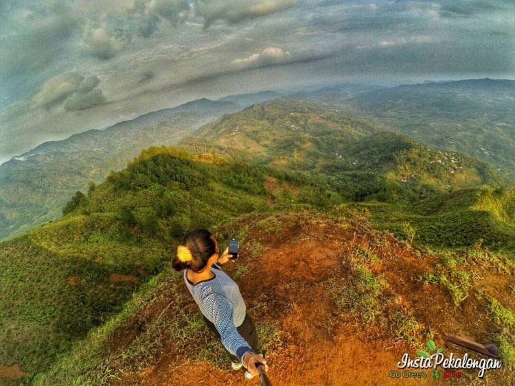 Dari ketinggian kunikamti keindahan Tuhan