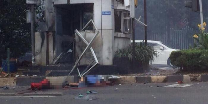 Pos Polisi Sarinah, Thamrin, Jakarta Pusat