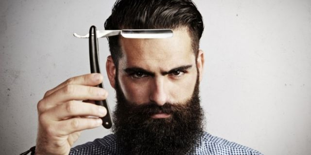 Shaving untuk merawat wajah.