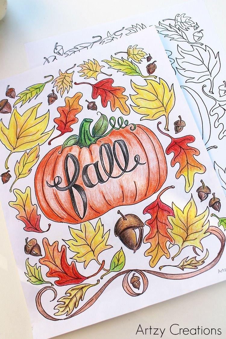 Labu dan musim gugur