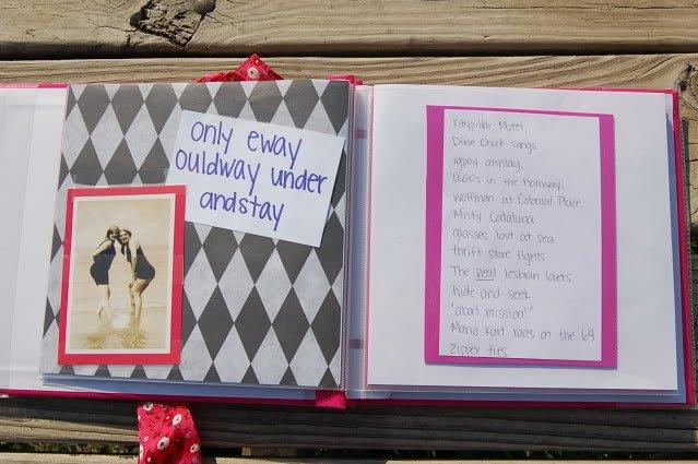 Hadiahkan scrapbook sebagai pengingat persahabatan