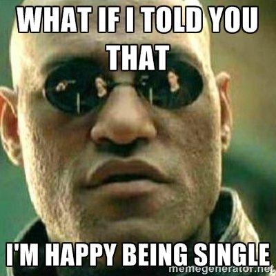 single tapi happy...