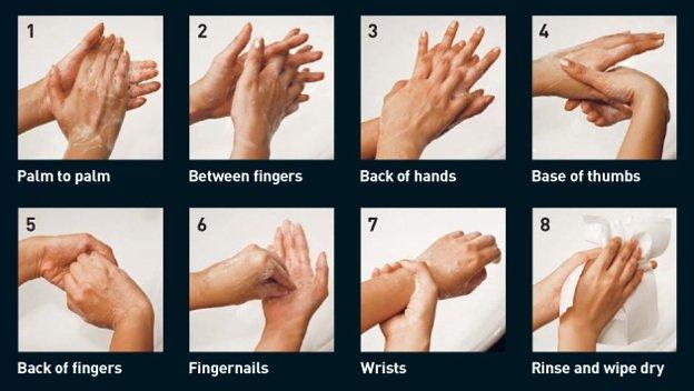 cara mencuci tangan dengan benar