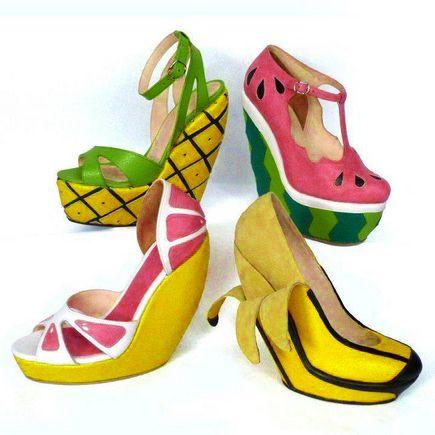 Sepatu buah. Yummy.