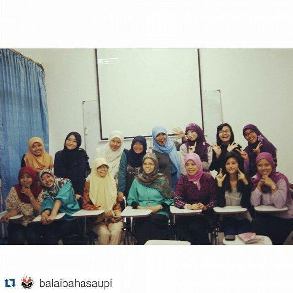 les bahasa Inggris dulu di Balai Bahasa UPI...