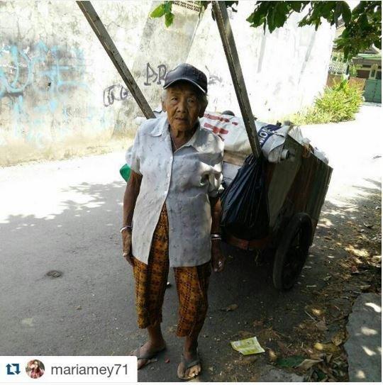 masih bekerja di usia yang hampir 100 tahun