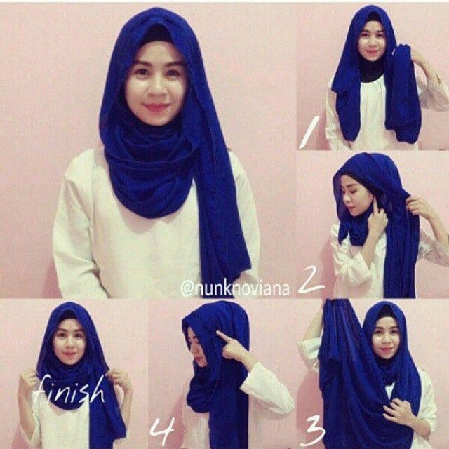 10 Gaya Hijab Segi Empat Yang Beda Buat Pipi Chubby Sampai Gaya Turban Ada