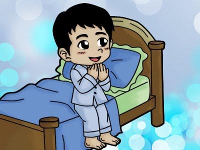 berdoa untuk orang yang disukai