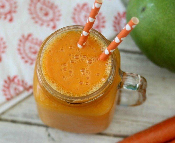 mangga + wortel + pisang