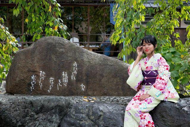 Memakai Kimono di Kyoto