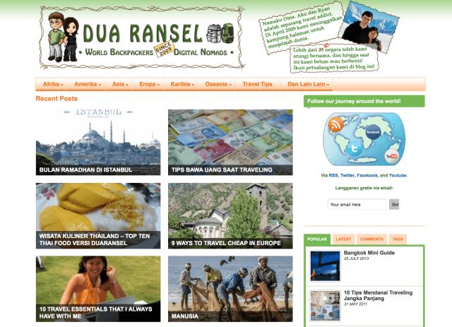 Homepage duaransel