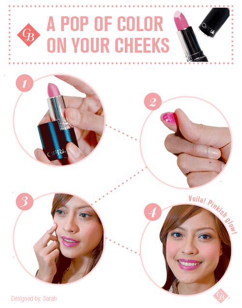 bikin pipimu merah merona dengan lipstik