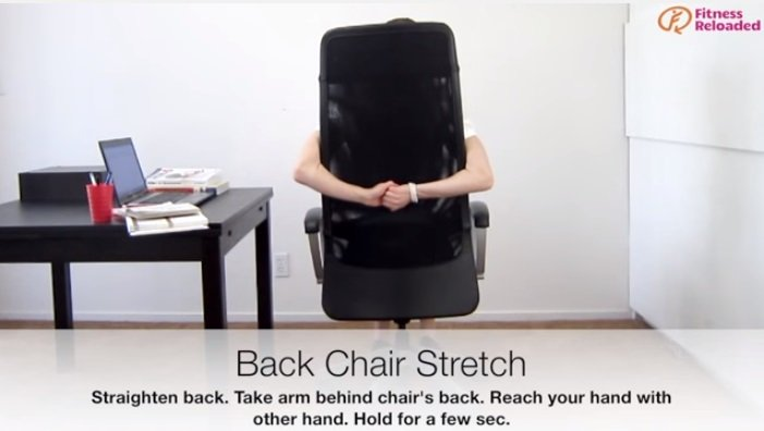 ikuti gerakan sederhana ini untuk meregangkan punggungmu