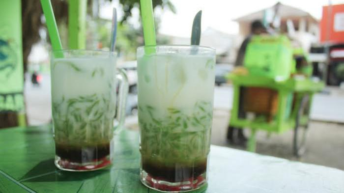 dawet ayu khas Banjarnegara yang super segar!