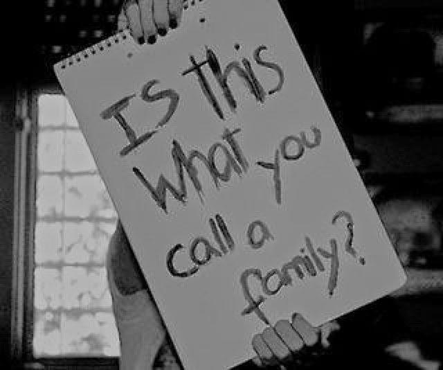 Keluarga juga bisa berantakan