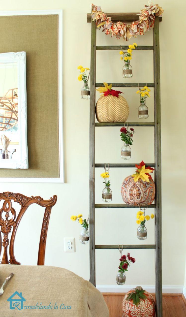 tangga sebagai ruang dekorasi tambahan