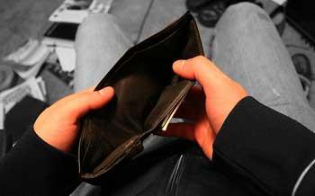 dompet kosong, buat nraktir terus sih