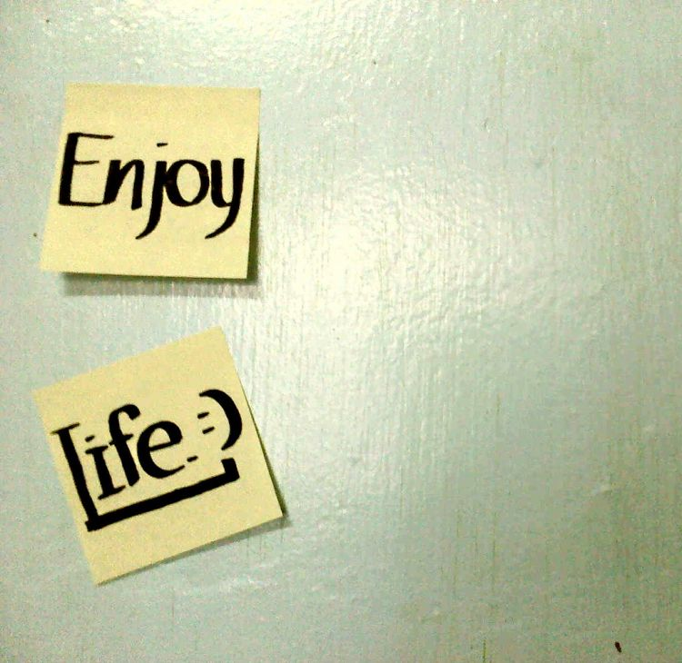 Fokus aja ke nikmatin hidupmu