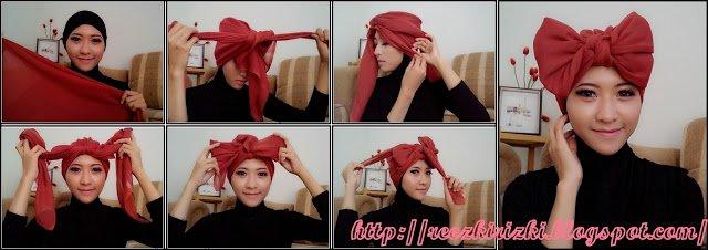 Hijab pita yang unyu..