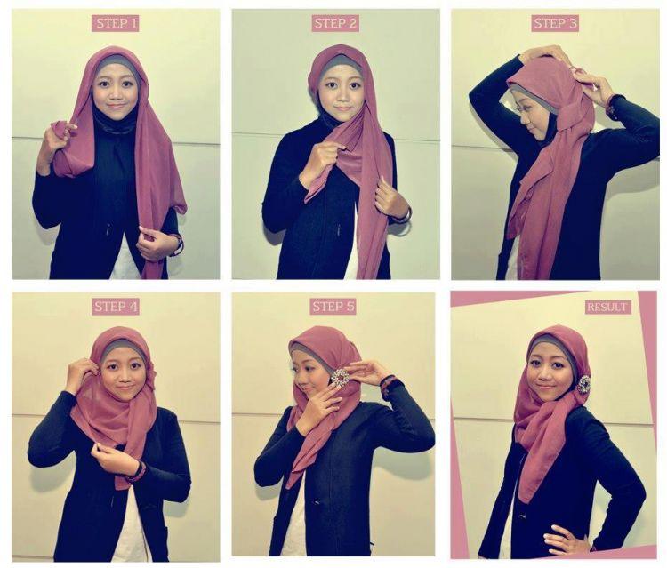 Percantik hijabmu dengan bros cantik agar tampil beda.